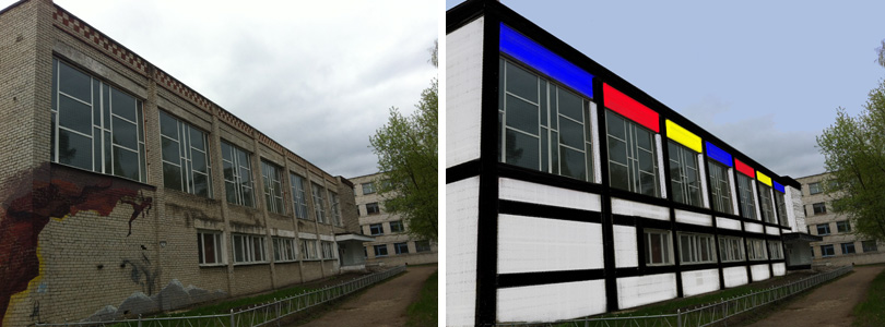 Dmitri Parkhunov Mondrian_Building
